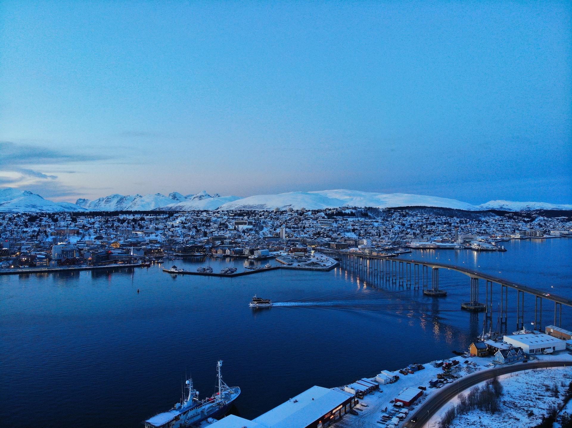 Hurtigruten à Tromsø