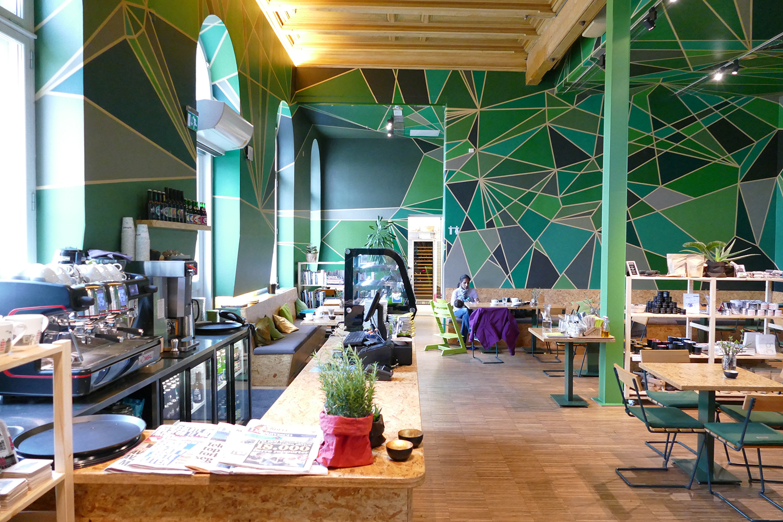 Café Alfred du Centre Nobel de la Paix à Oslo
