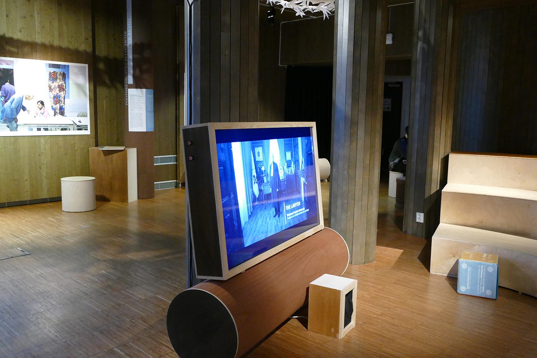 Étage du Centre Nobel de la Paix à Oslo