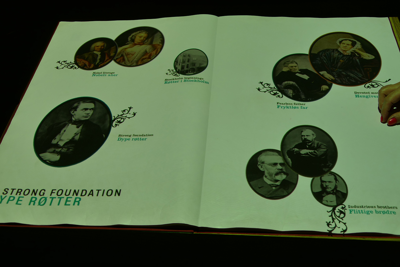 Livre magique d'Alfred Nobel