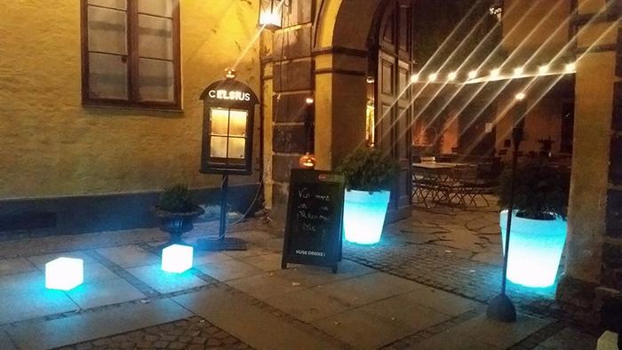 Le Café Celsius à Oslo
