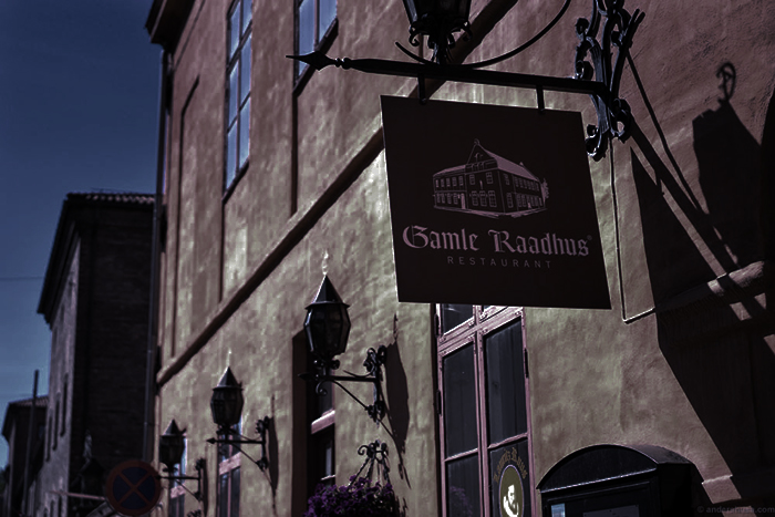 Le restaurant Gamle Raadhus à Oslo