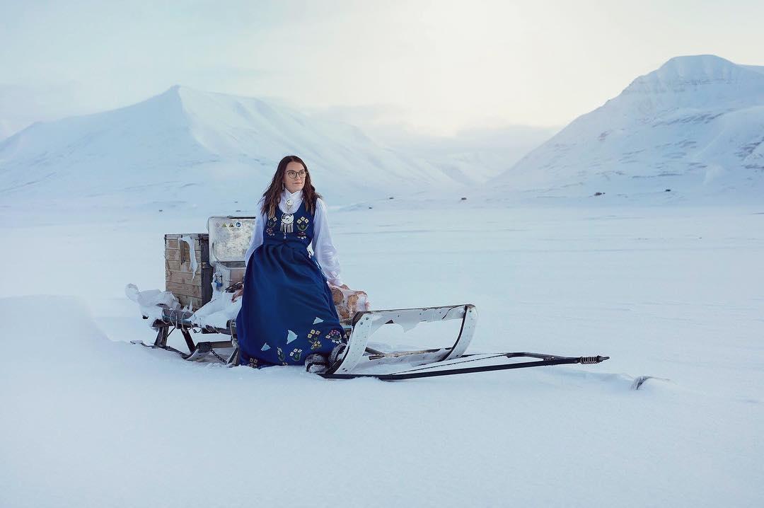 Bunad, Costume traditionnel au Svalbard