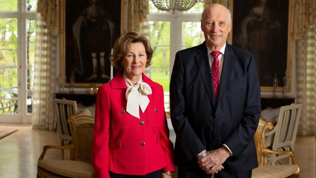 Couple royal de Norvège pour le 17 mai 2020