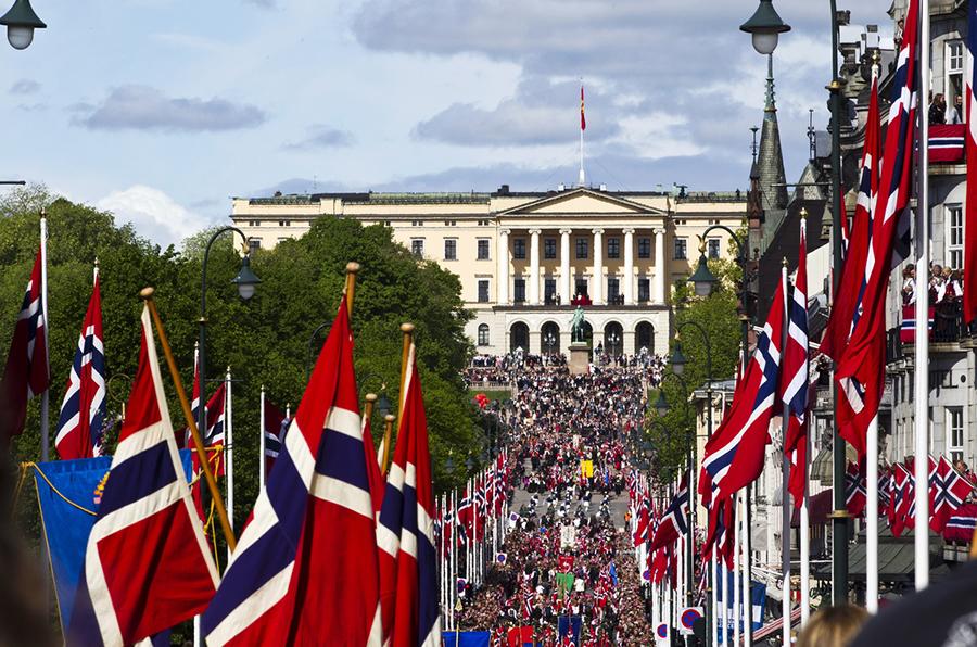 Fête Nationale à Oslo