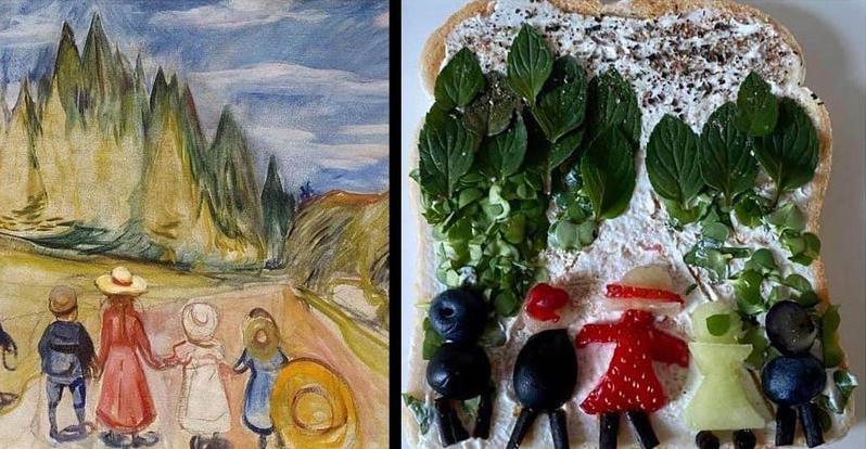 La forêt de conte de fées d'Edvard Munch par Caroline Barnes