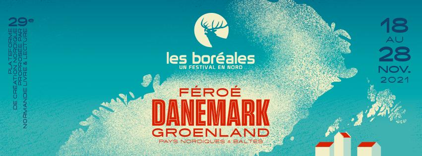 Affiche du festival Les Boréales 2021