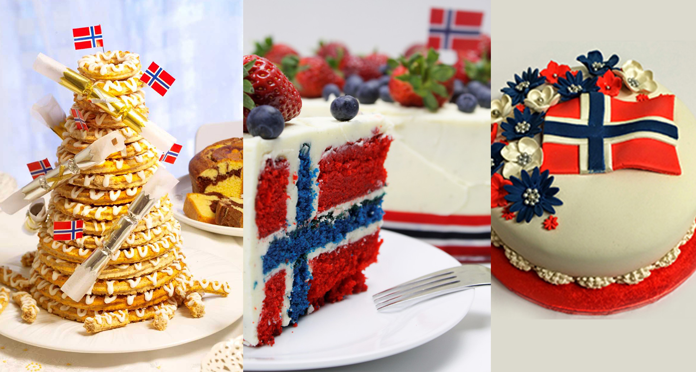 Gâteaux du 17 mai