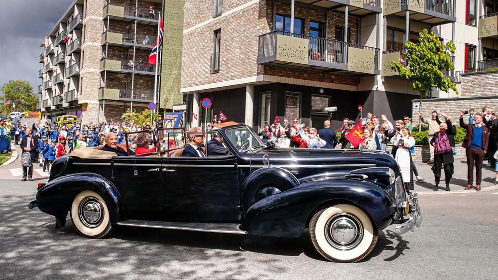 Le couple royal le 17 mai
