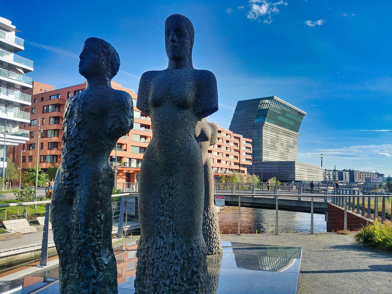 Vue du nouveau musée dédié à Edvard Munch