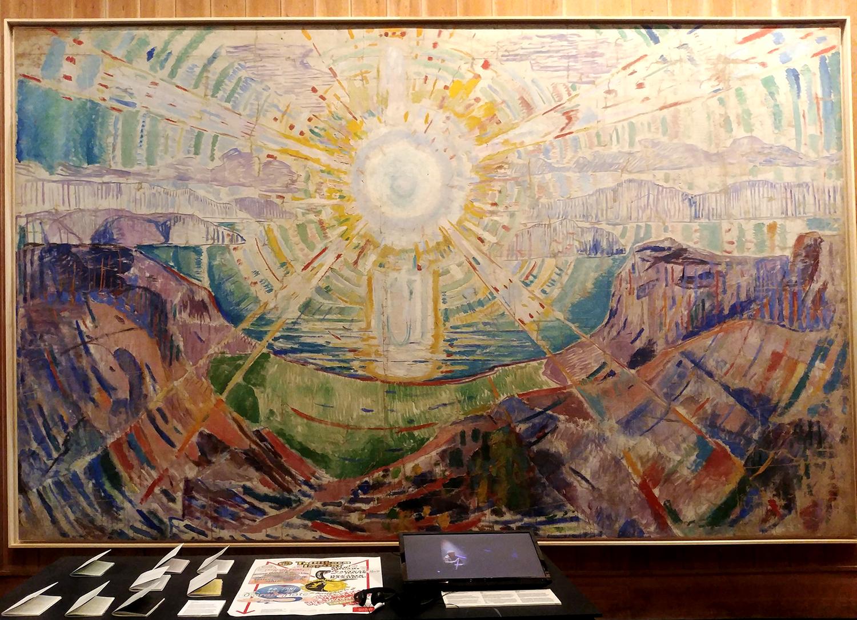Le soleil d'Edvard Munch
