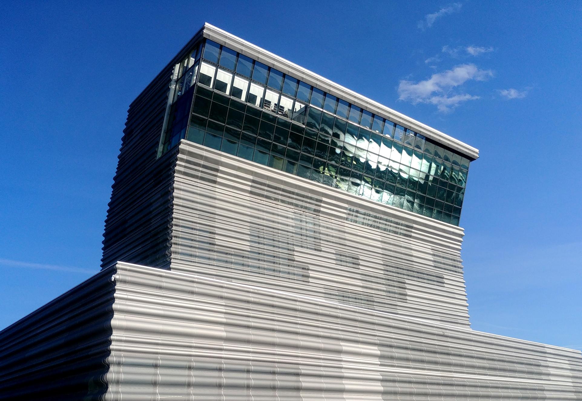Nouveau musée Munch à 0slo