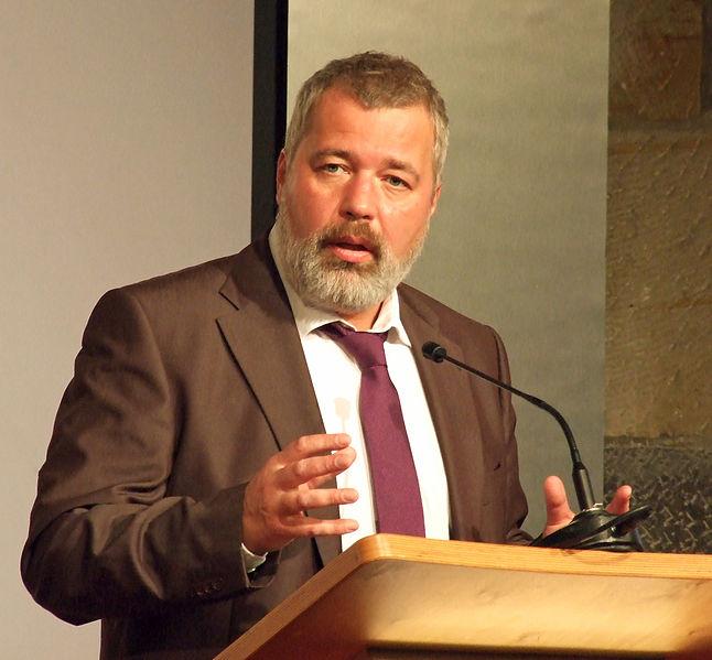 Dmitry Muratov, Prix Nobel de la Paix 2021