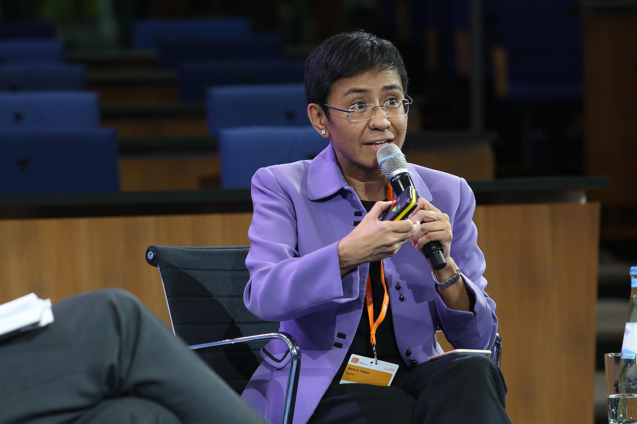 Maria Ressa, Prix Nobel de la Paix 2021