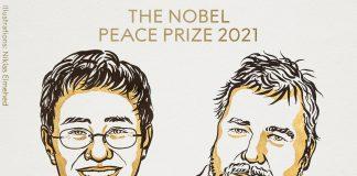 Maria Ressa et Dmitry Muratov, prix Nobel de la Paix 2021