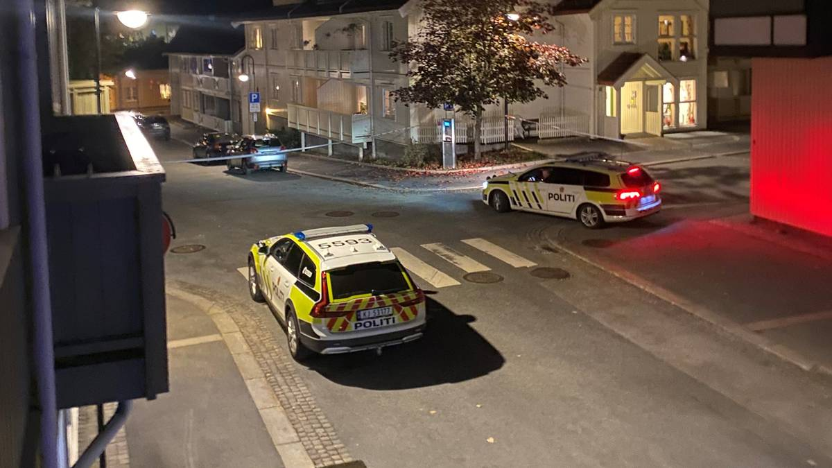 Intervention de la police à Kongsberg en Norvège
